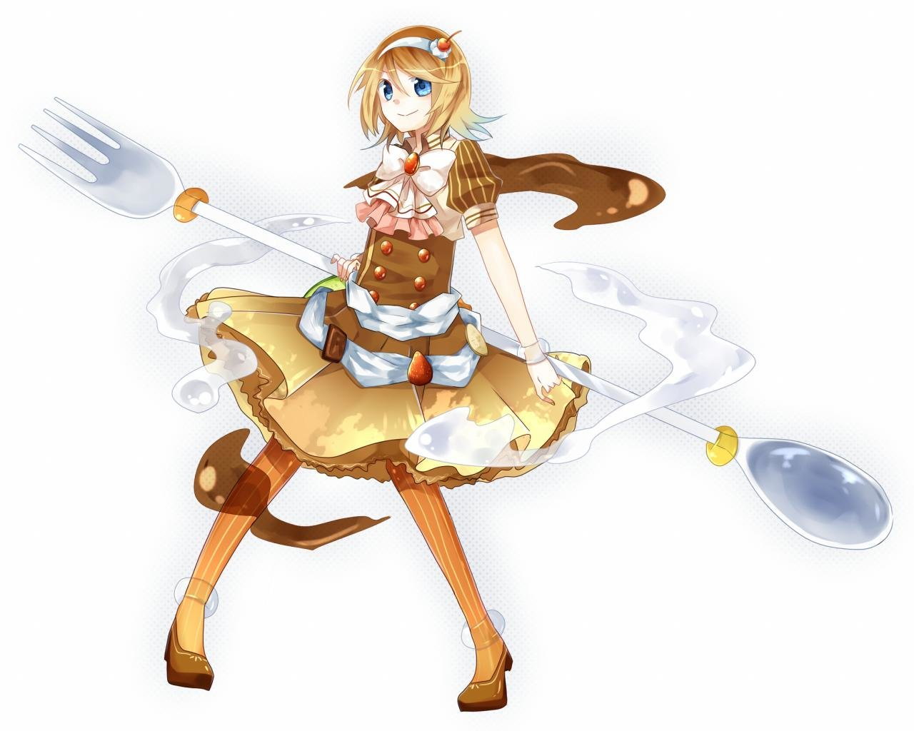 Awesome Rin Kagamine free wallpaper ID:4831 for hd 1280x1024 computer