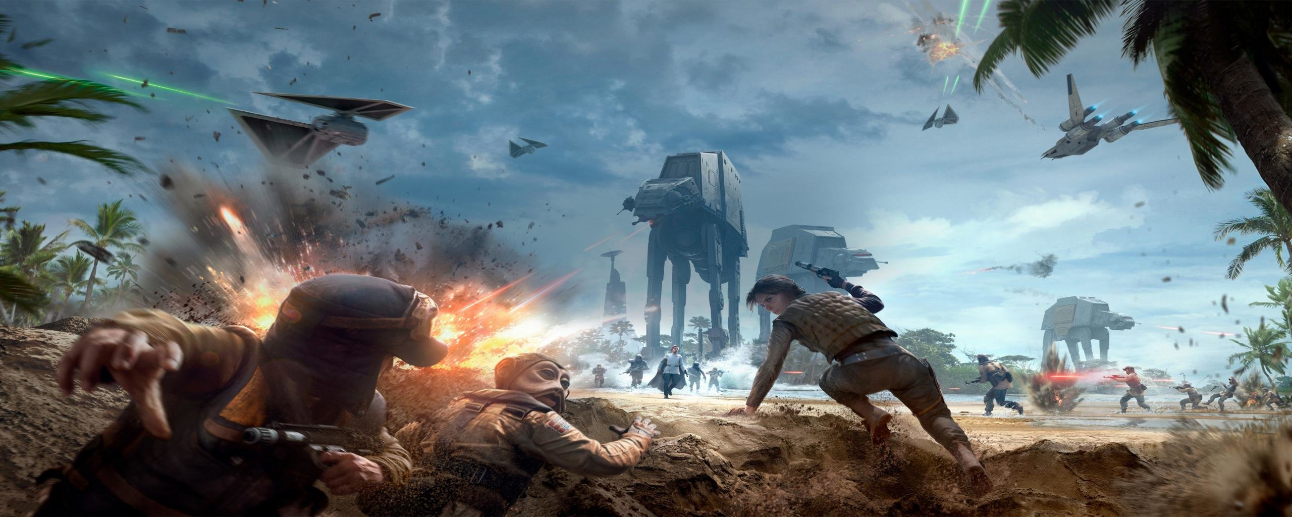 Dual Monitor Star Wars Battlefront Wallpapers, HD Backgrounds