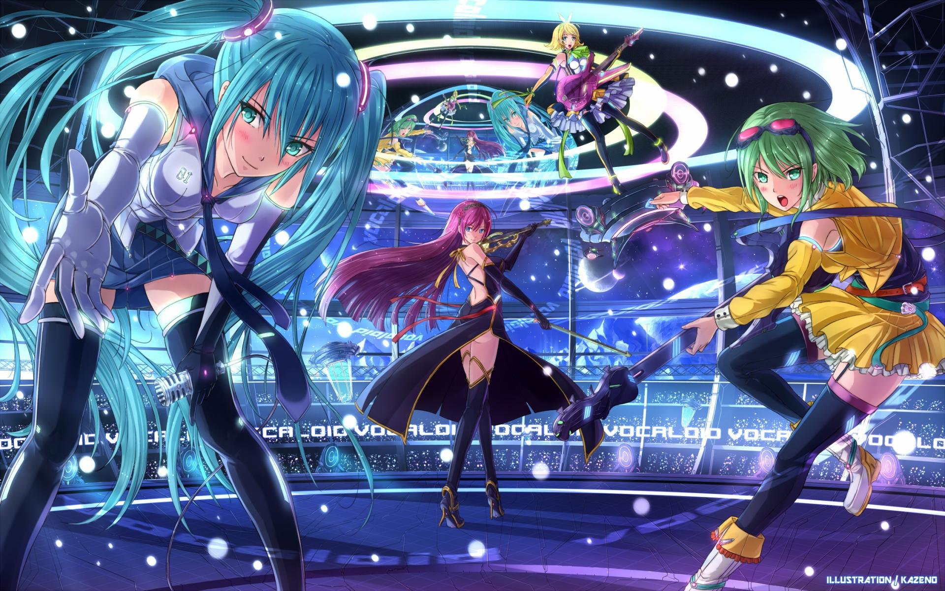 Awesome Vocaloid free wallpaper ID:364 for hd 1920x1200 computer