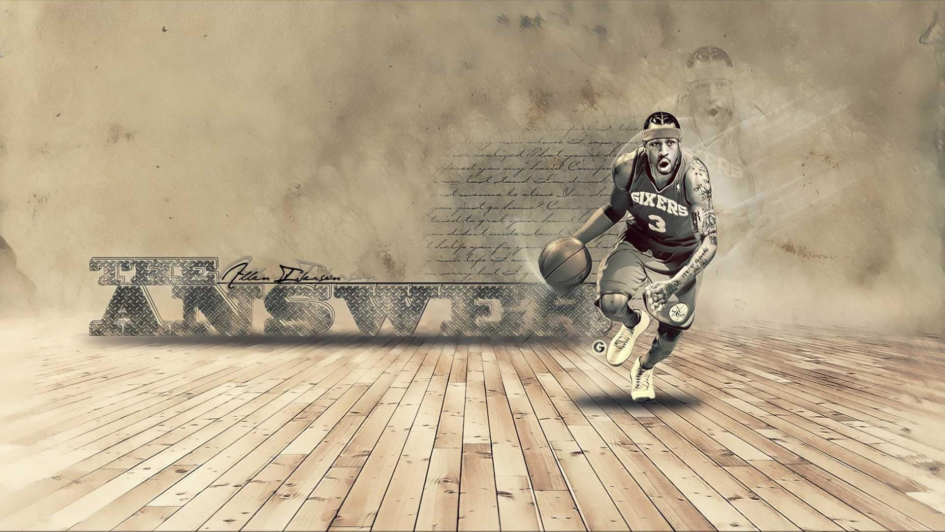 Download 1080p Allen Iverson PC background ID:53354 for free