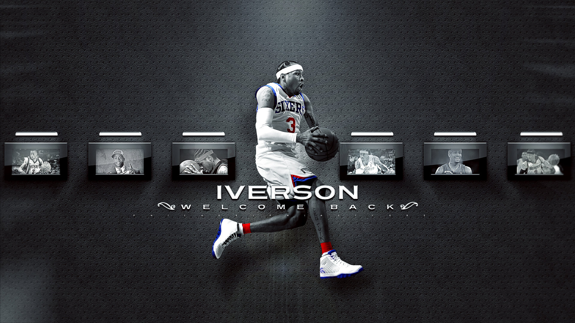 Download full hd 1080p Allen Iverson desktop background ID:53358 for free