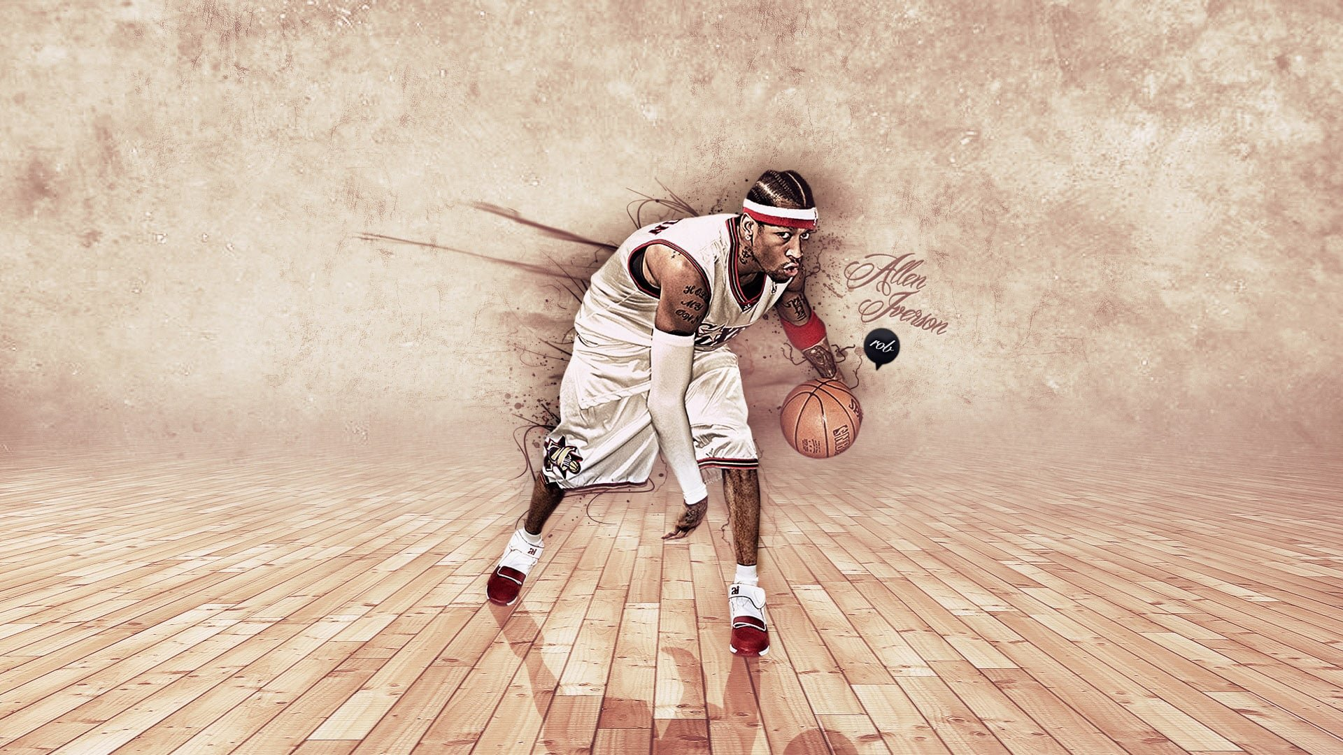 Best Allen Iverson background ID:53355 for High Resolution full hd 1920x1080 computer