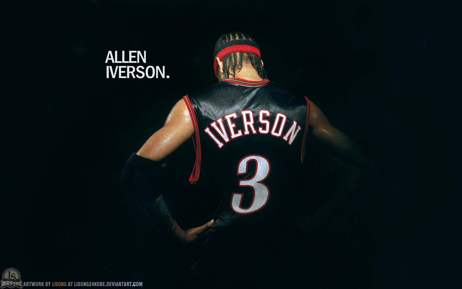 Download hd 1920x1200 Allen Iverson PC background ID:53369 for free