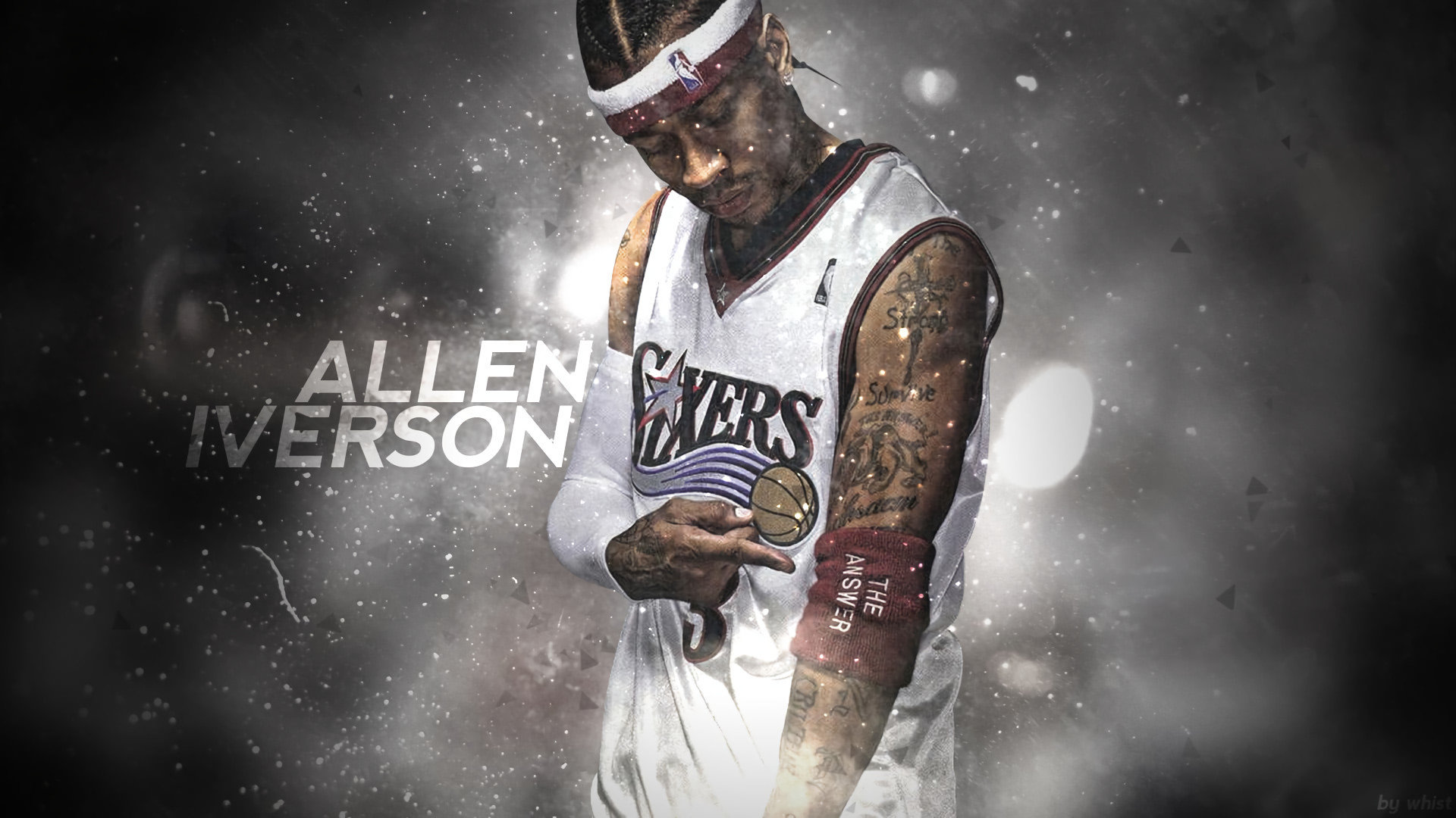 Free Allen Iverson high quality wallpaper ID:53368 for hd 1080p desktop