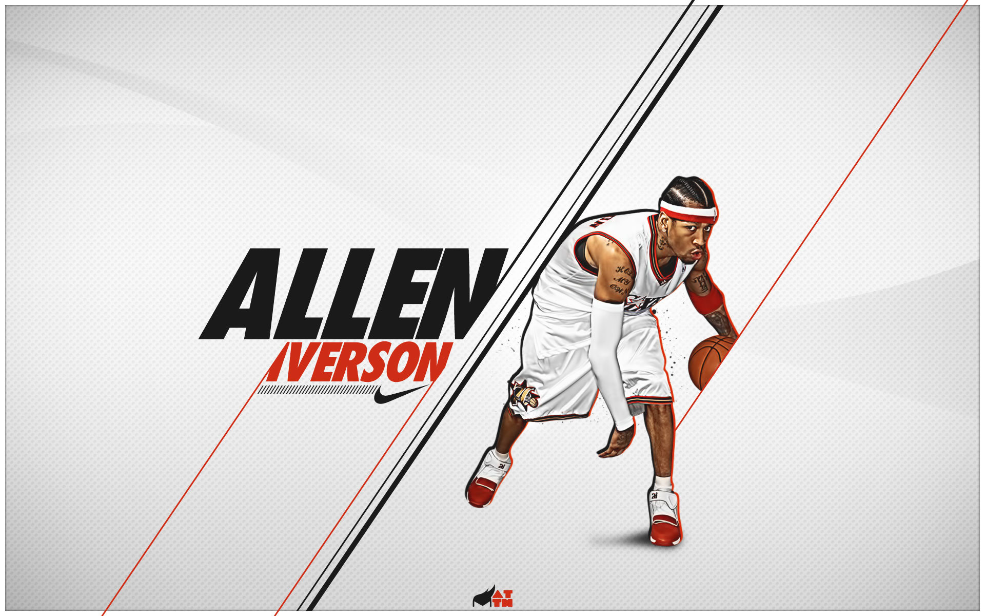 Free download Allen Iverson wallpaper ID:53366 hd 1920x1200 for computer