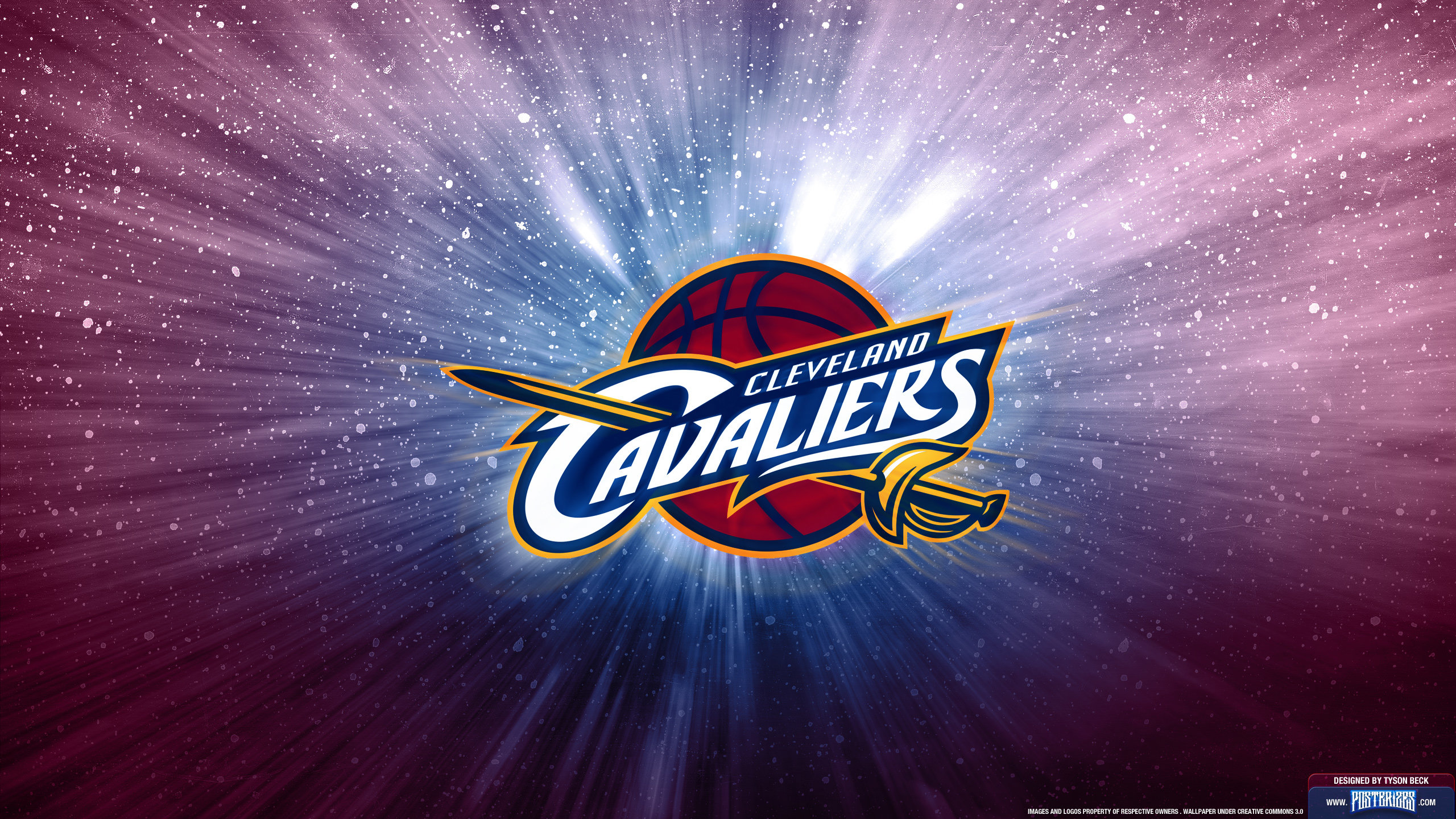 Download hd 2560x1440 Cleveland Cavaliers (CAVS) PC wallpaper ID:350452 for free