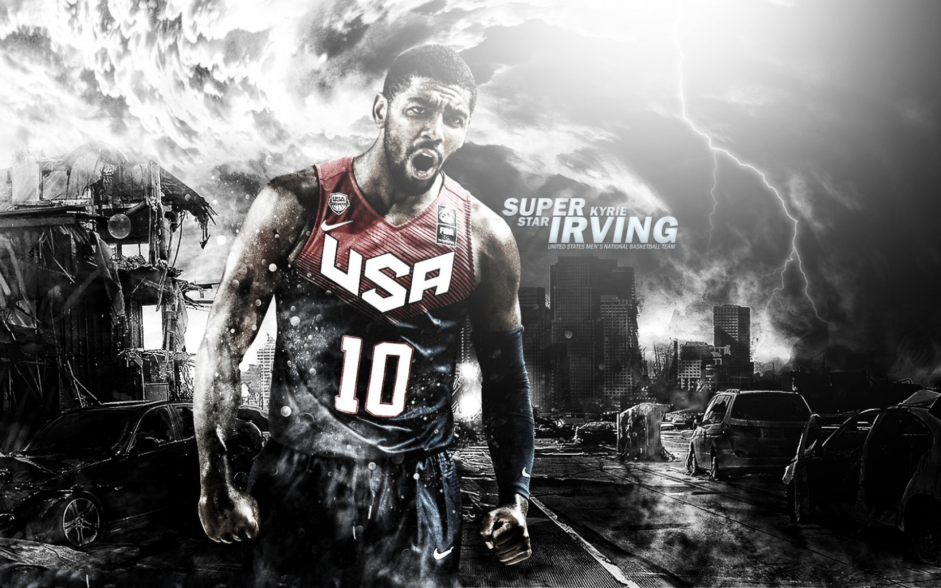 Awesome Kyrie Irving free wallpaper ID:131775 for hd 1920x1200 PC