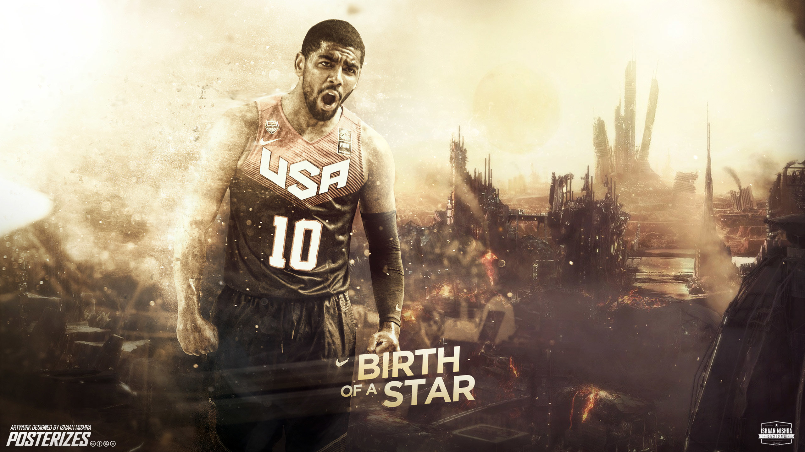 High resolution Kyrie Irving hd 2560x1440 wallpaper ID:131785 for desktop