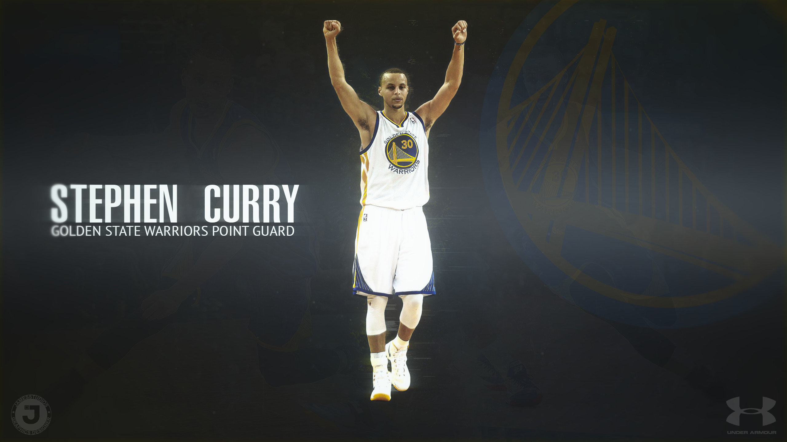 Free download Stephen Curry background ID:247976 hd 2560x1440 for desktop