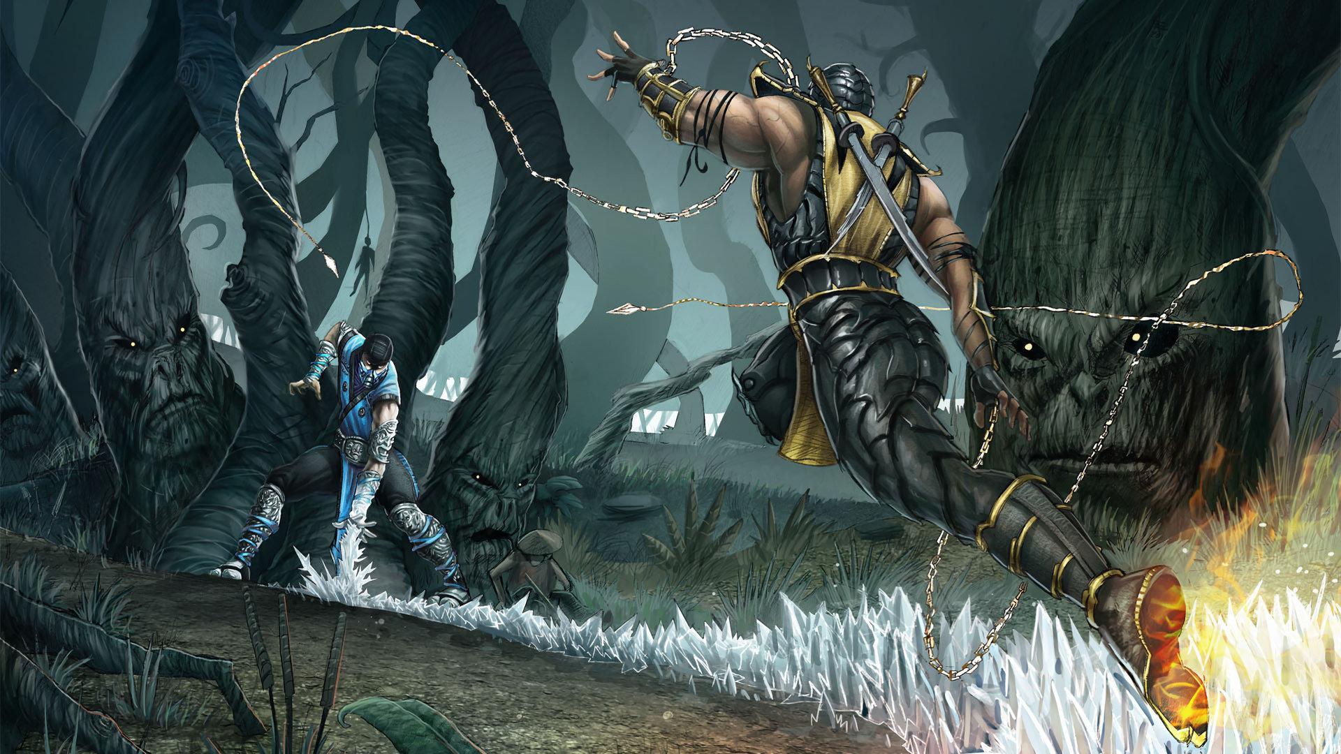 Sub Zero Mortal Kombat Wallpapers Hd For Desktop Backgrounds