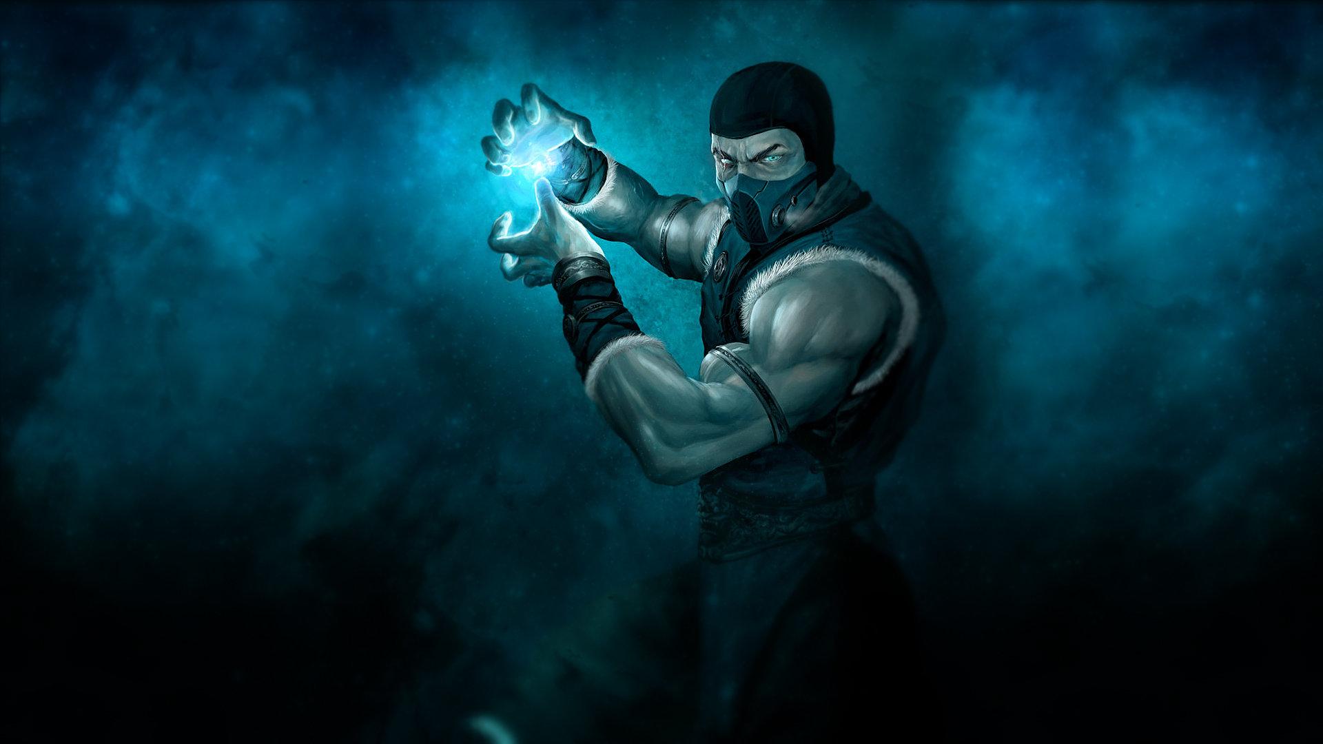 Download 1080p Sub Zero Mortal Kombat PC Wallpaper ID183221 For Free