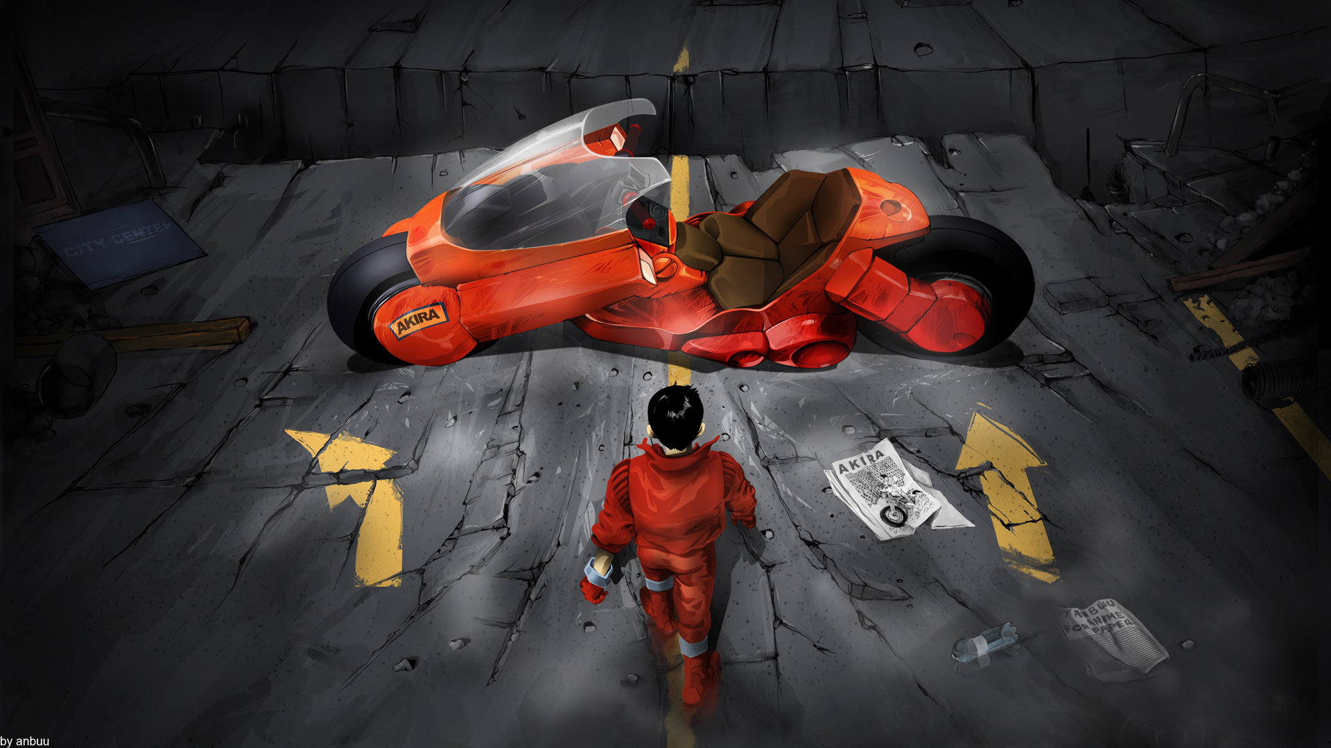 Best Akira background ID:365986 for High Resolution full hd 1080p PC