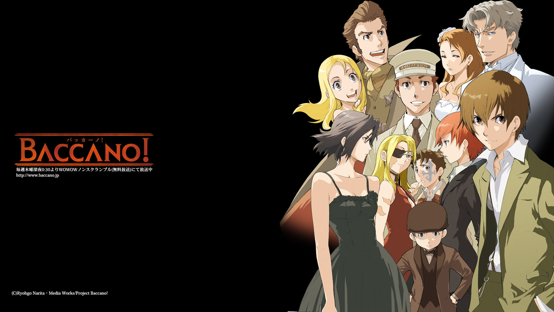Awesome Baccano! free wallpaper ID:324390 for hd 1080p computer