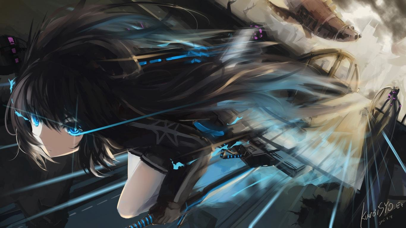 Free Black Rock Shooter high quality wallpaper ID:454984 for laptop PC