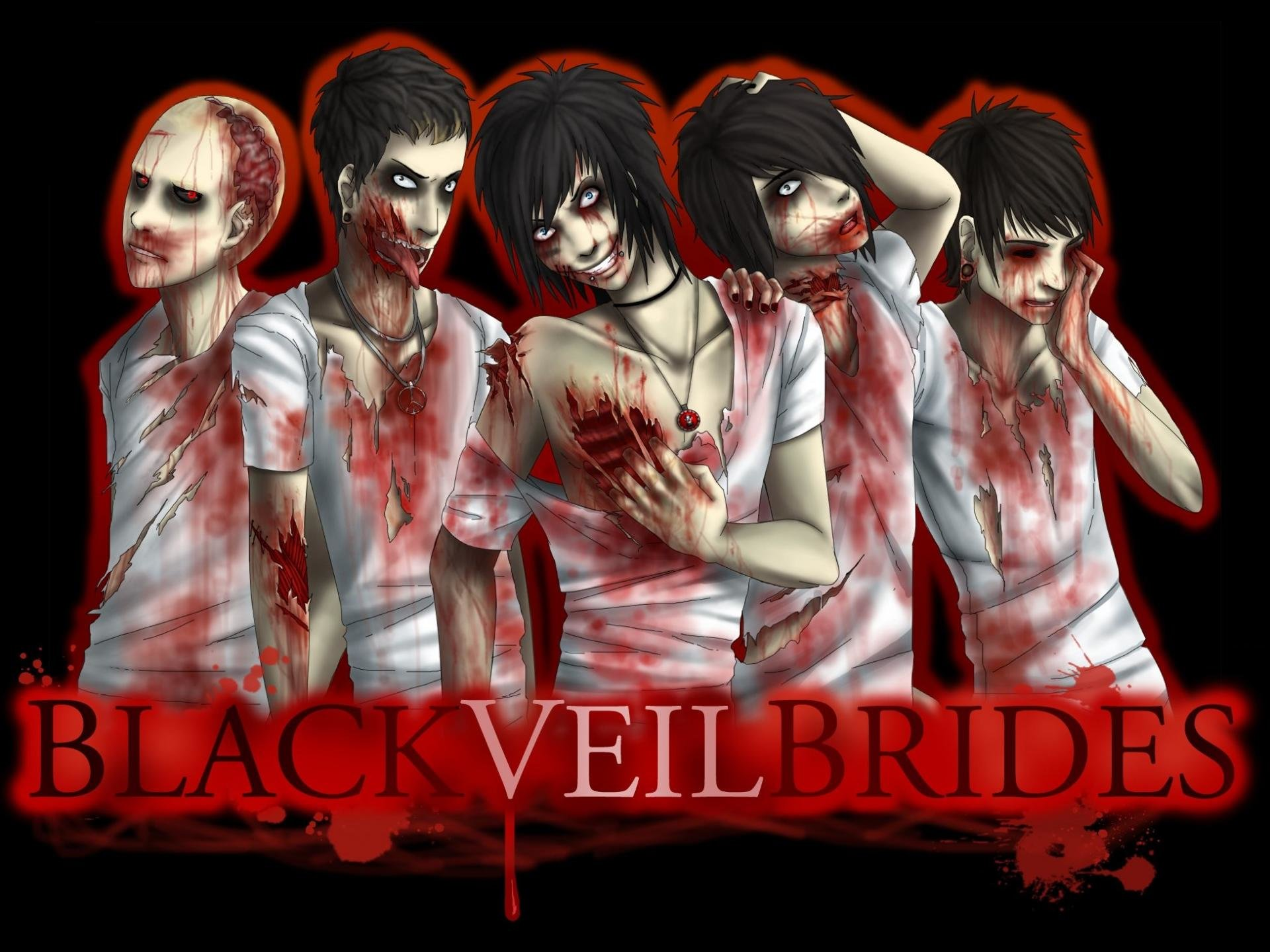 Download hd 1920x1440 Black Veil Brides computer background ID:436742 for free