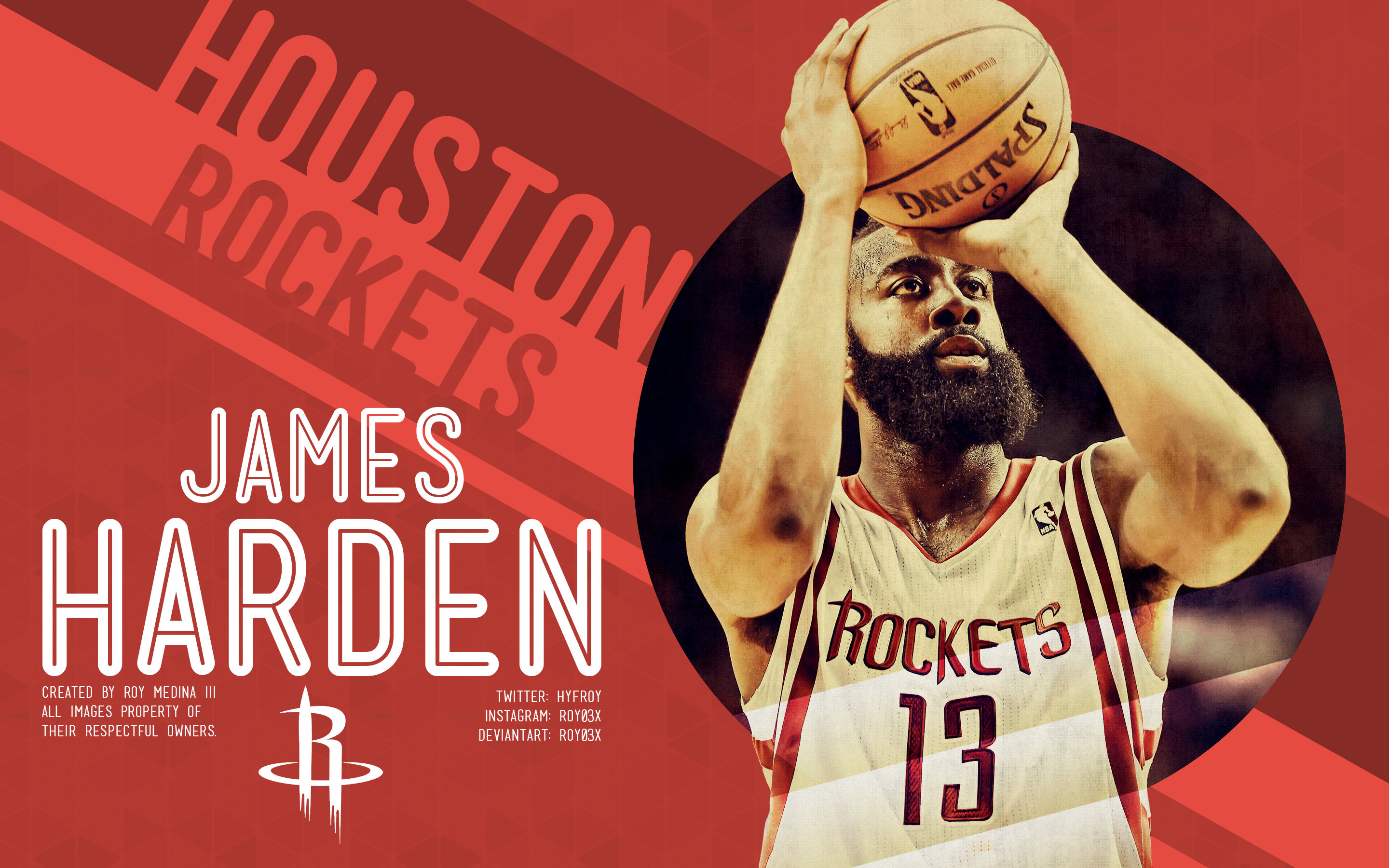 Free download James Harden background ID:281658 hd 2880x1800 for desktop