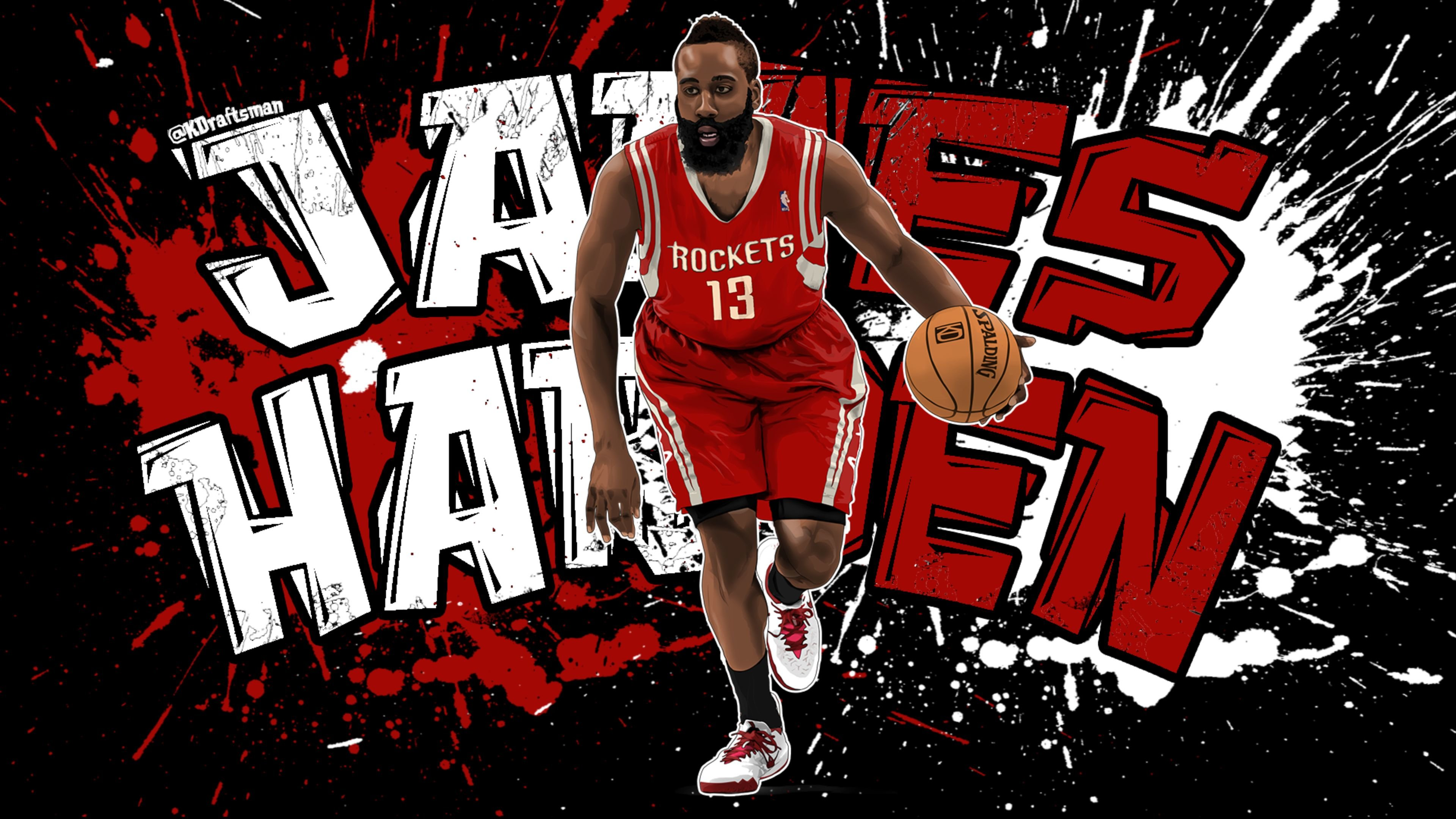 Free download James Harden background ID:281659 uhd 4k for computer
