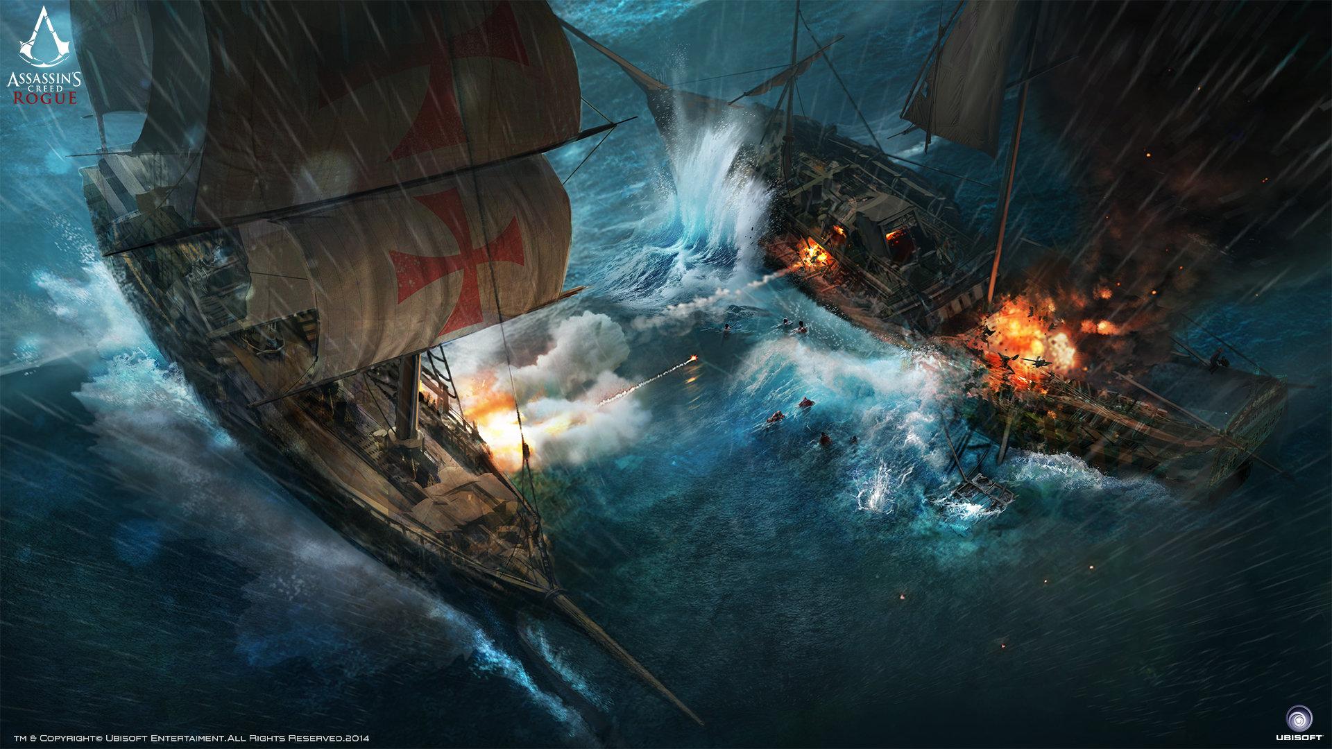 Free Download Assassin S Creed Rogue Wallpaper Id 231510 Hd 1080p