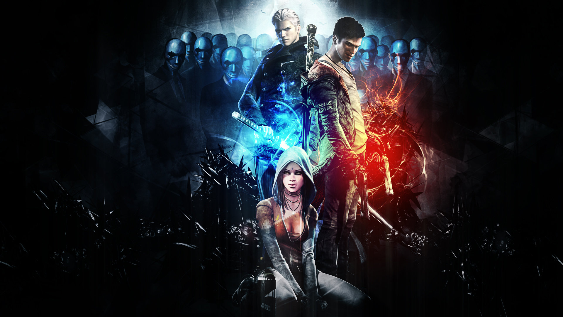 Vergil Devil May Cry Wallpapers 1920x1080 Full Hd 1080p