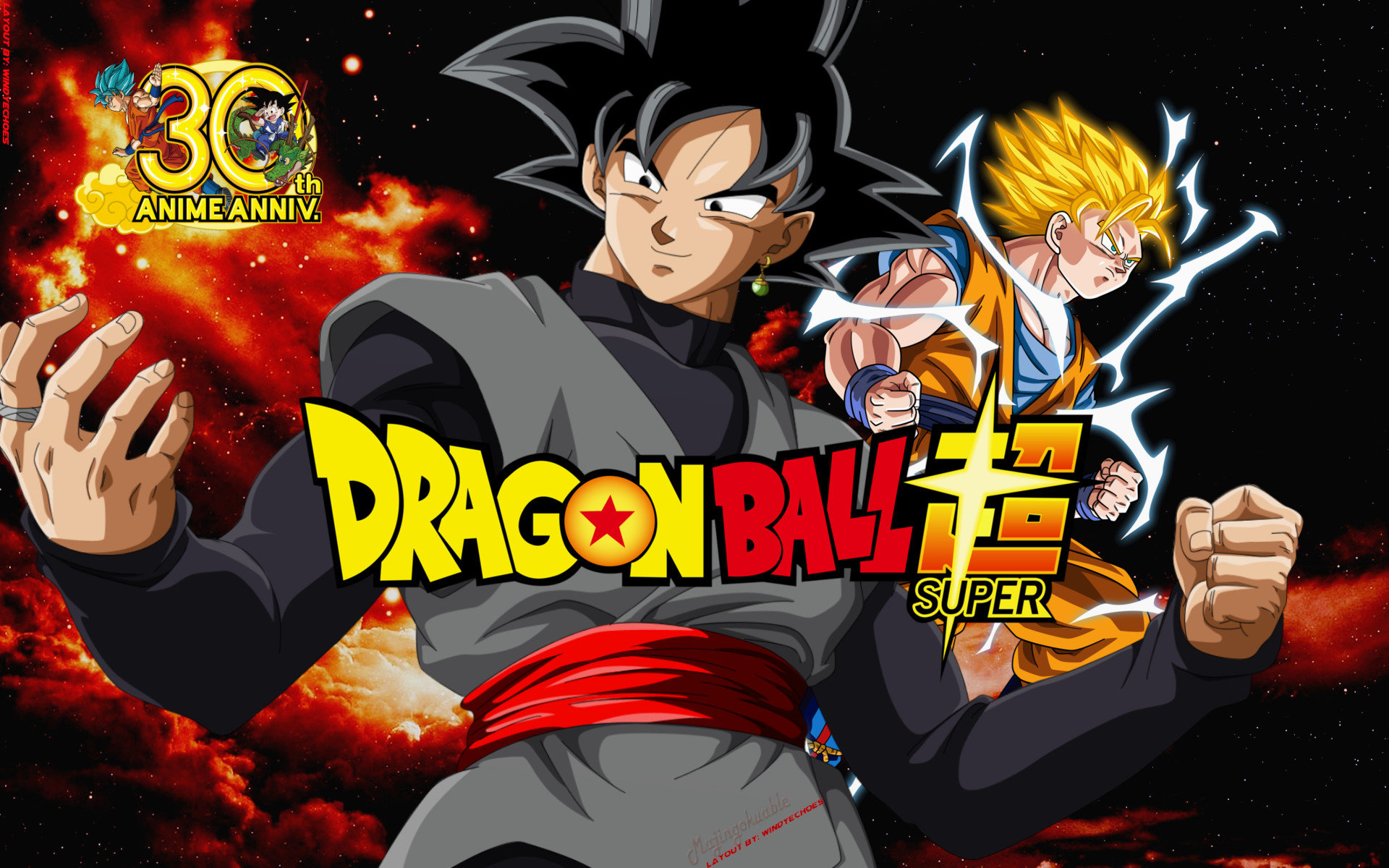 Download hd 1920x1200 Dragon Ball Super computer wallpaper ID:242696 for free