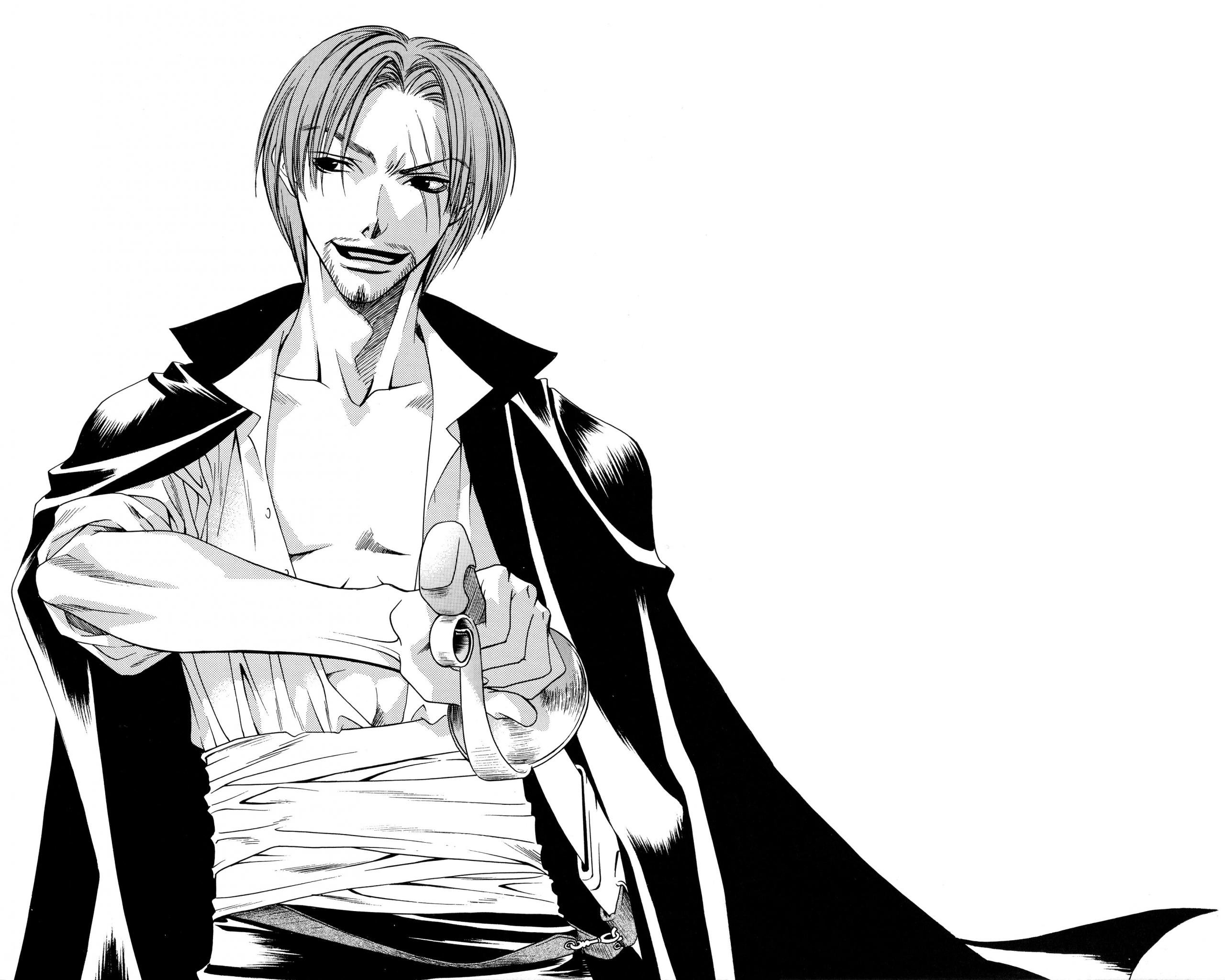 Download hd 2560x2048 Shanks (One Piece) desktop background ID:314184 for free