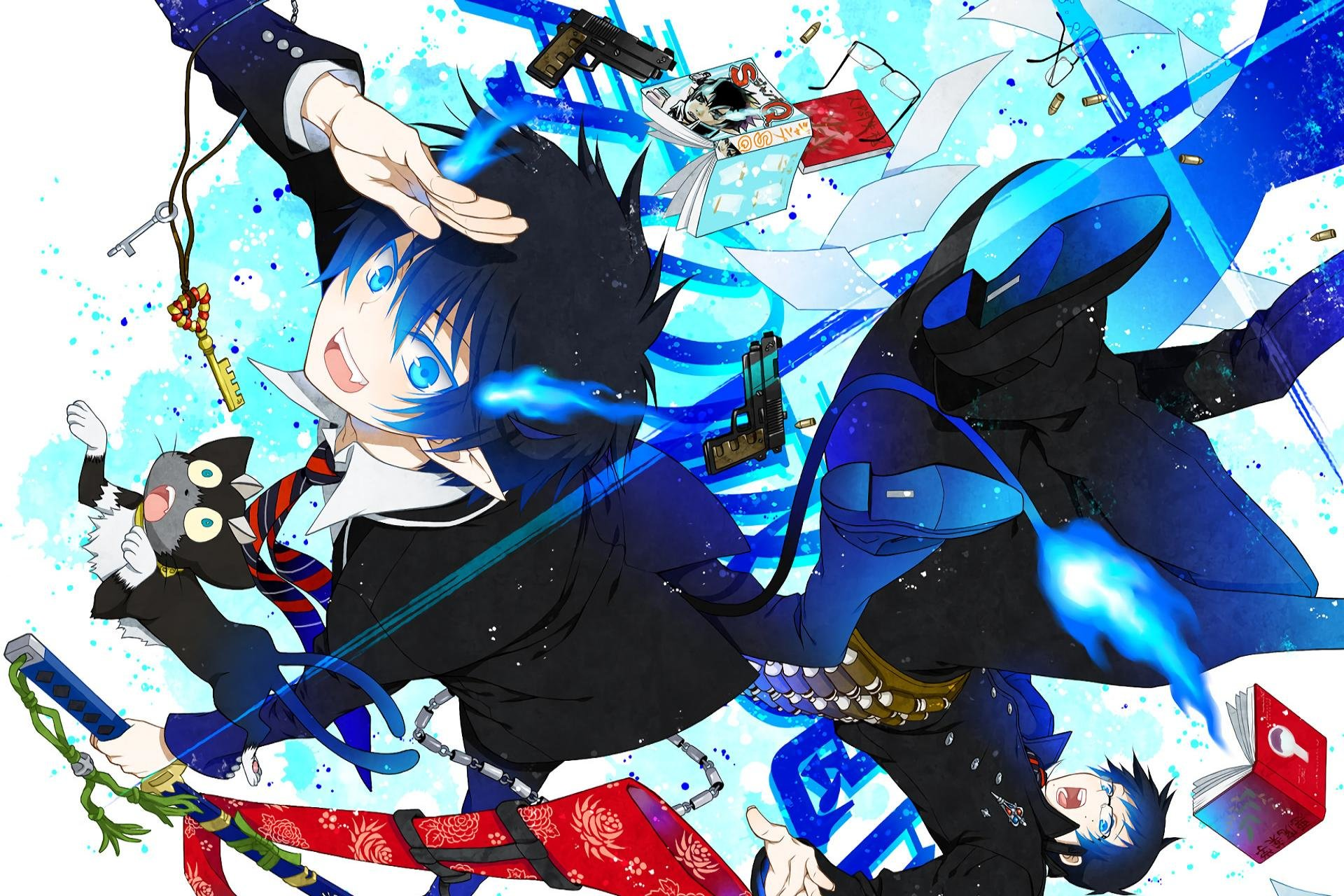 Free download Blue Exorcist (Ao No) background ID:242282 hd 1920x1280 for desktop