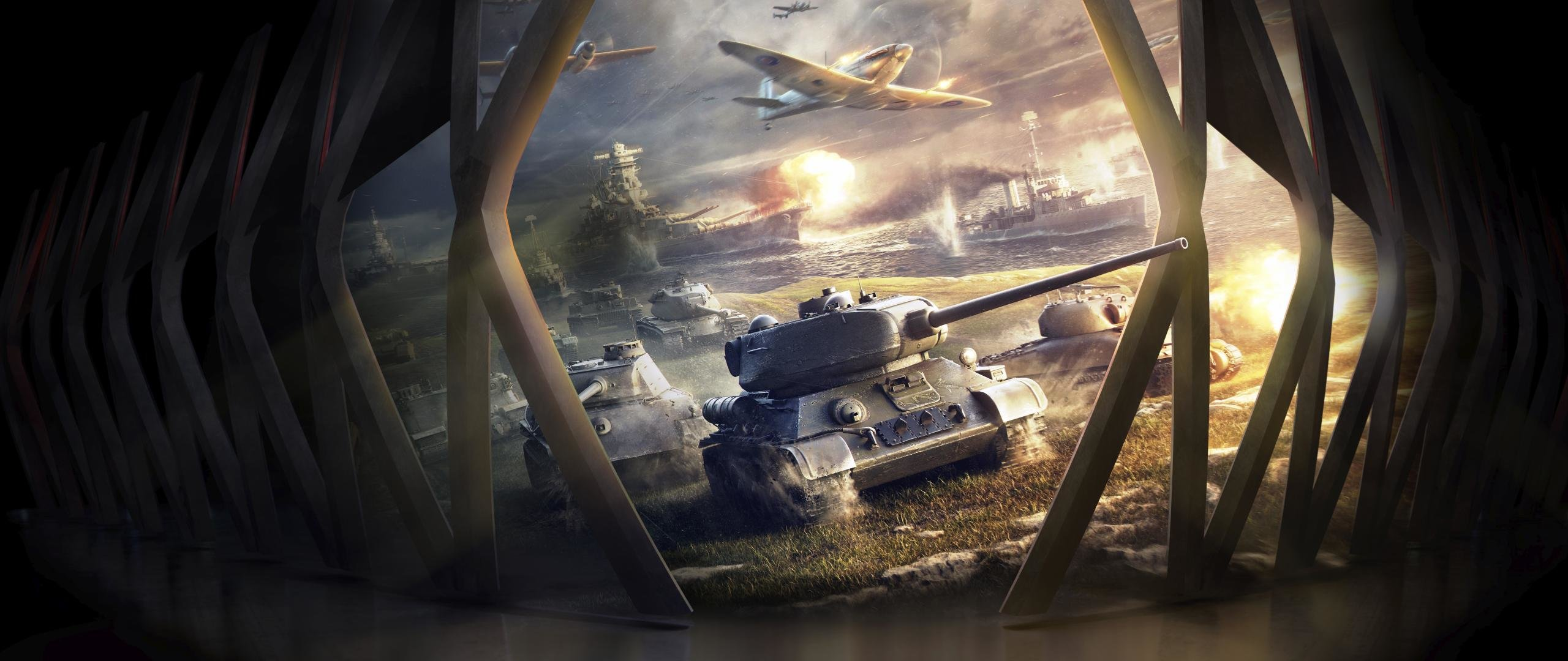 Download hd 2560x1080 World Of Tanks (WOT) PC background ID