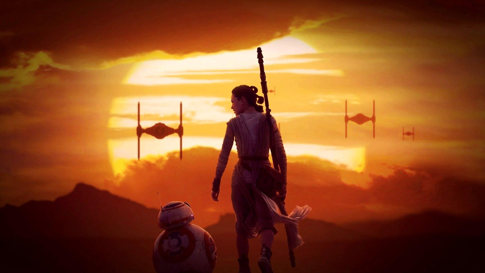 Star Wars Force Awakens 1080p: Rey (Star Wars) Wallpapers 1920x1080 Full HD (1080p