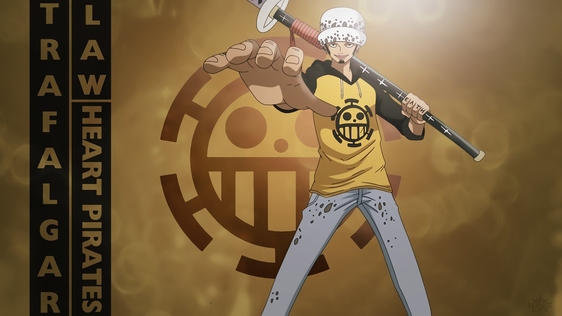 Best Trafalgar Law background ID:314798 for High Resolution full hd computer