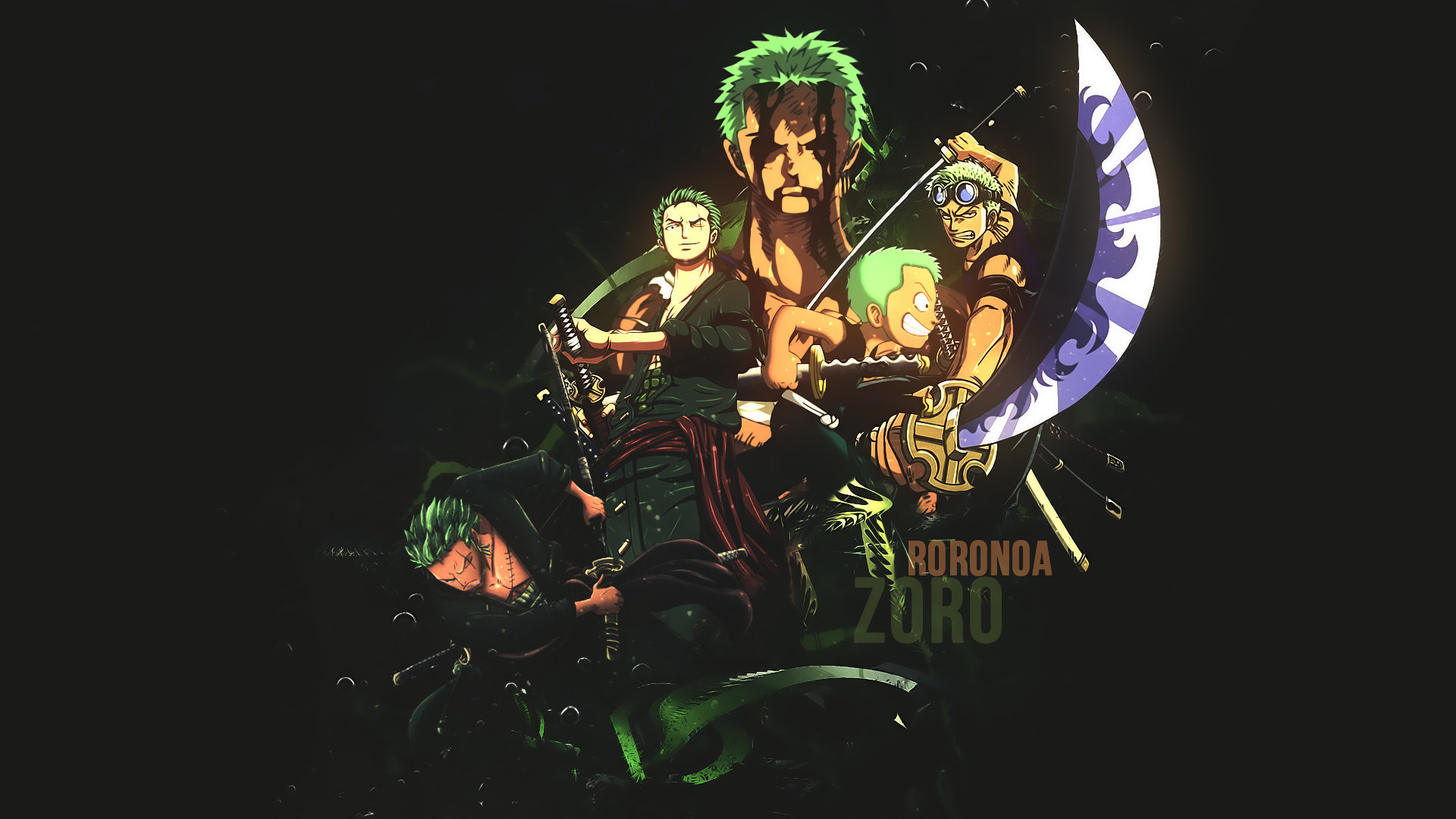 Best Zoro Roronoa Wallpaper Id 314443 For High Resolution Hd 1080p Pc