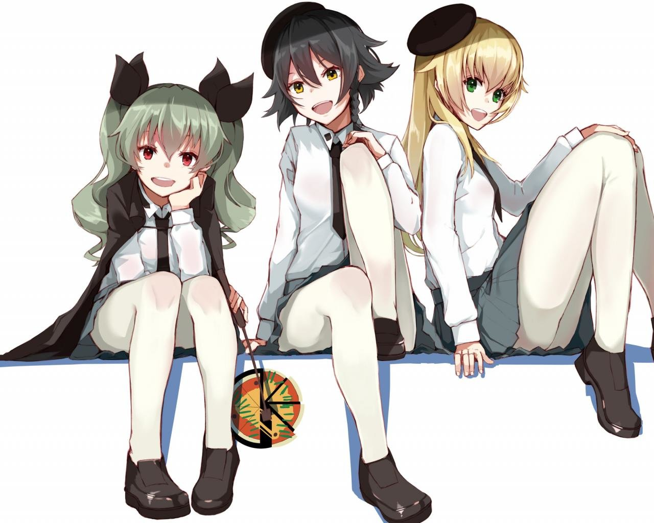 Best Girls Und Panzer background ID:208312 for High Resolution hd 1280x1024 desktop