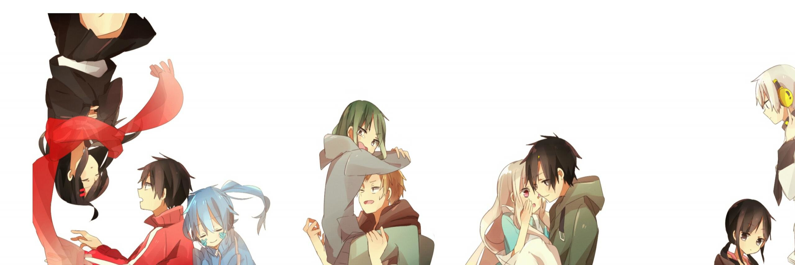 Best Kagerou Project background ID:134331 for High Resolution dual monitor 2560x854 desktop