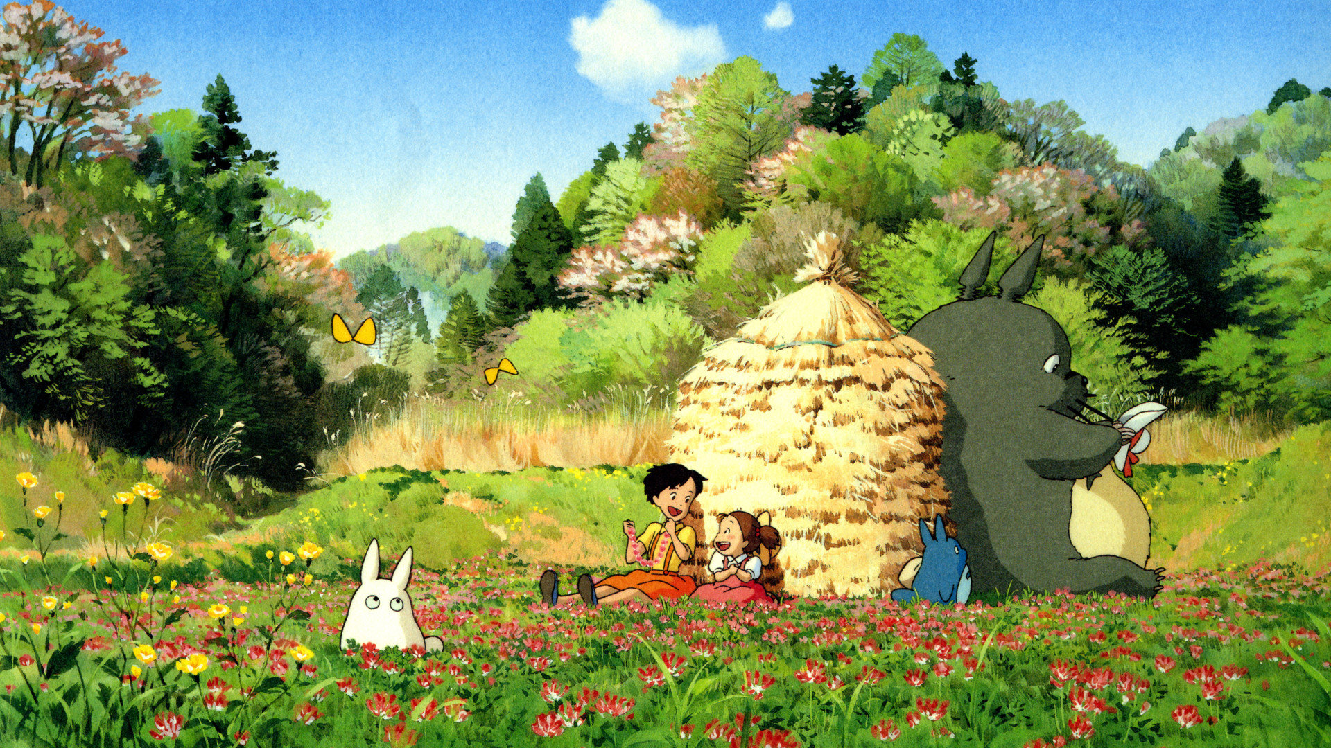 Free My Neighbor Totoro high quality wallpaper ID:259352 for hd 1080p computer