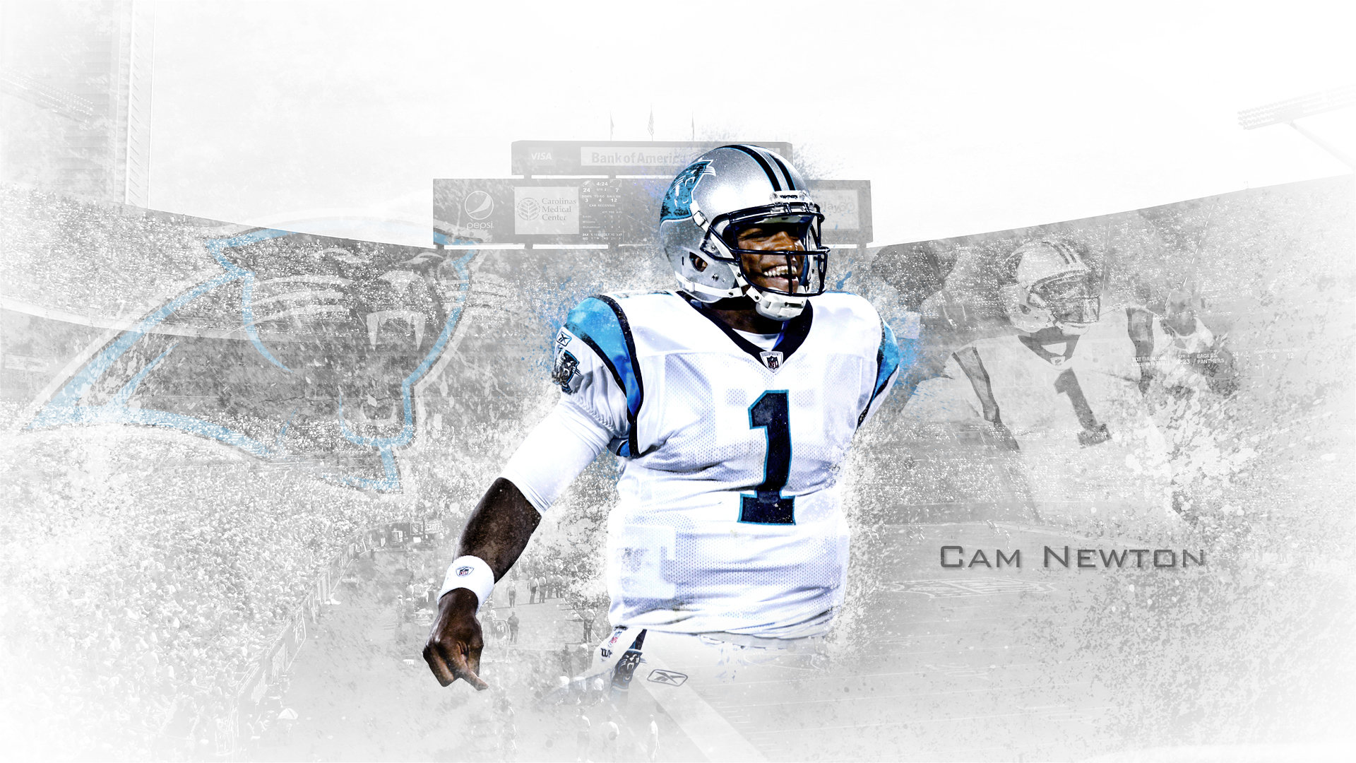 Free download Cam Newton background ID:57585 full hd 1080p for desktop
