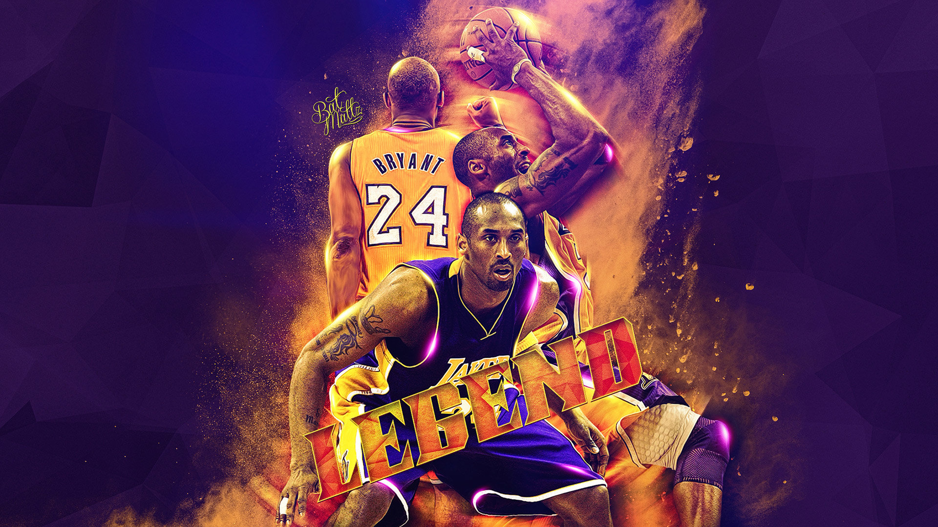 Download full hd 1080p Kobe Bryant computer background ID:162369 for free