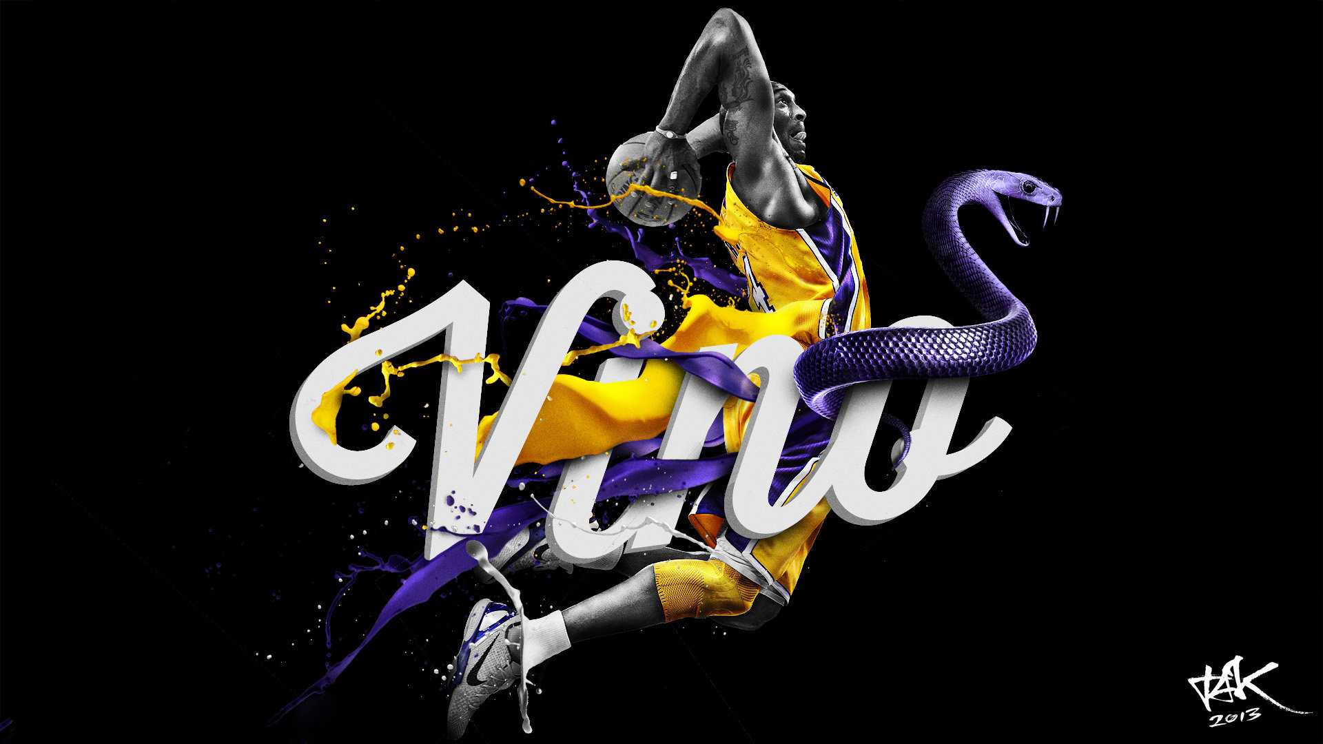 Download full hd 1920x1080 Kobe Bryant computer wallpaper ID:162368 for free