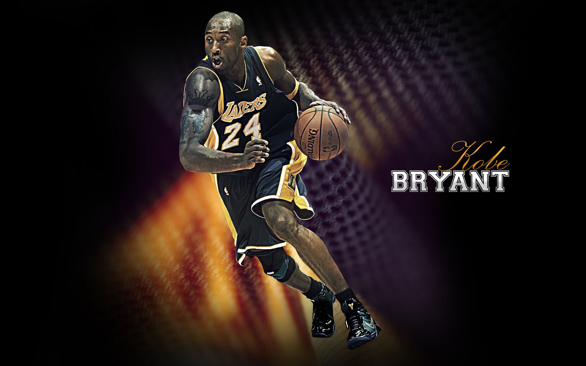 High resolution Kobe Bryant hd 1920x1200 wallpaper ID:162375 for computer