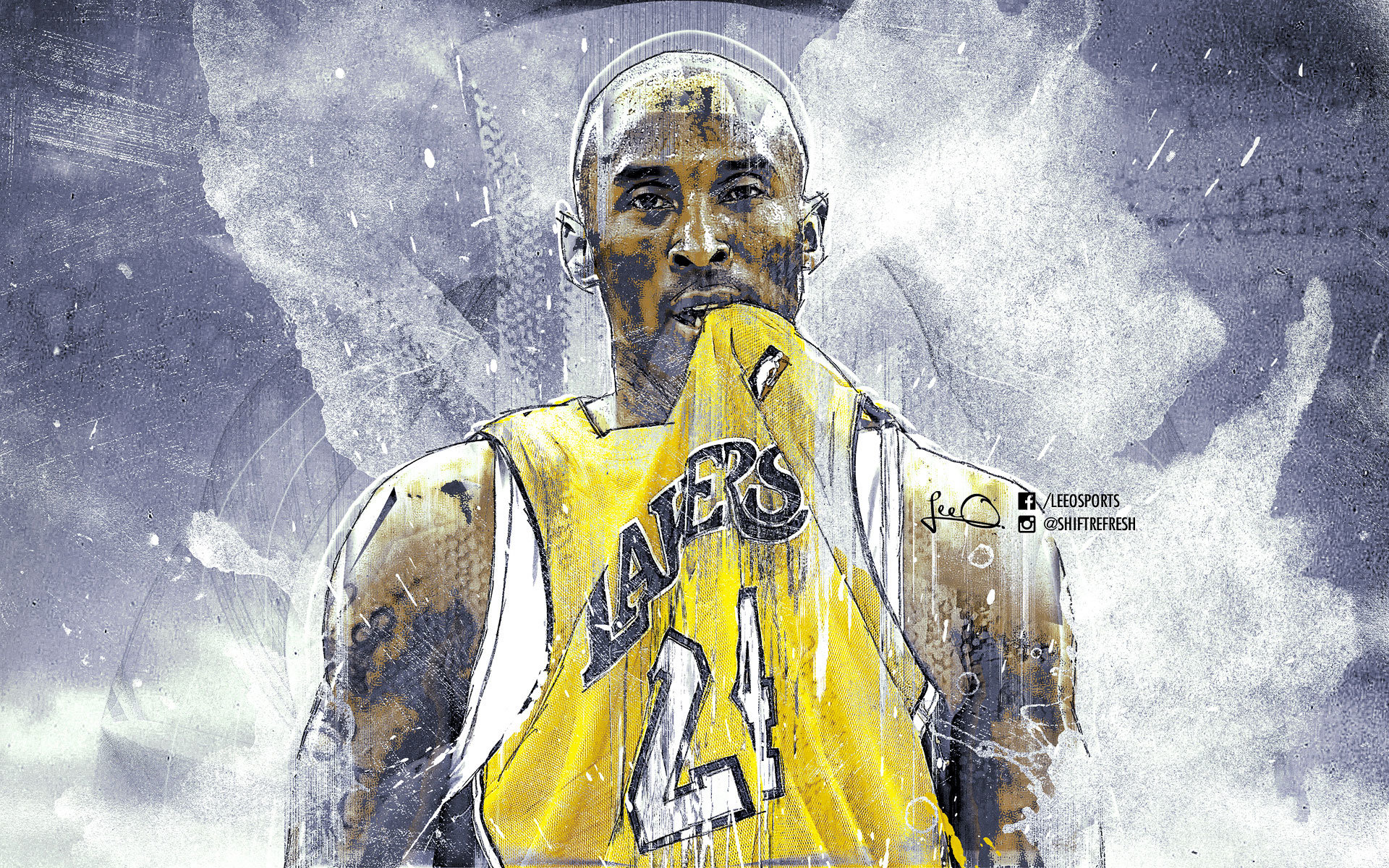 Awesome Kobe Bryant free wallpaper ID:162380 for hd 1920x1200 PC