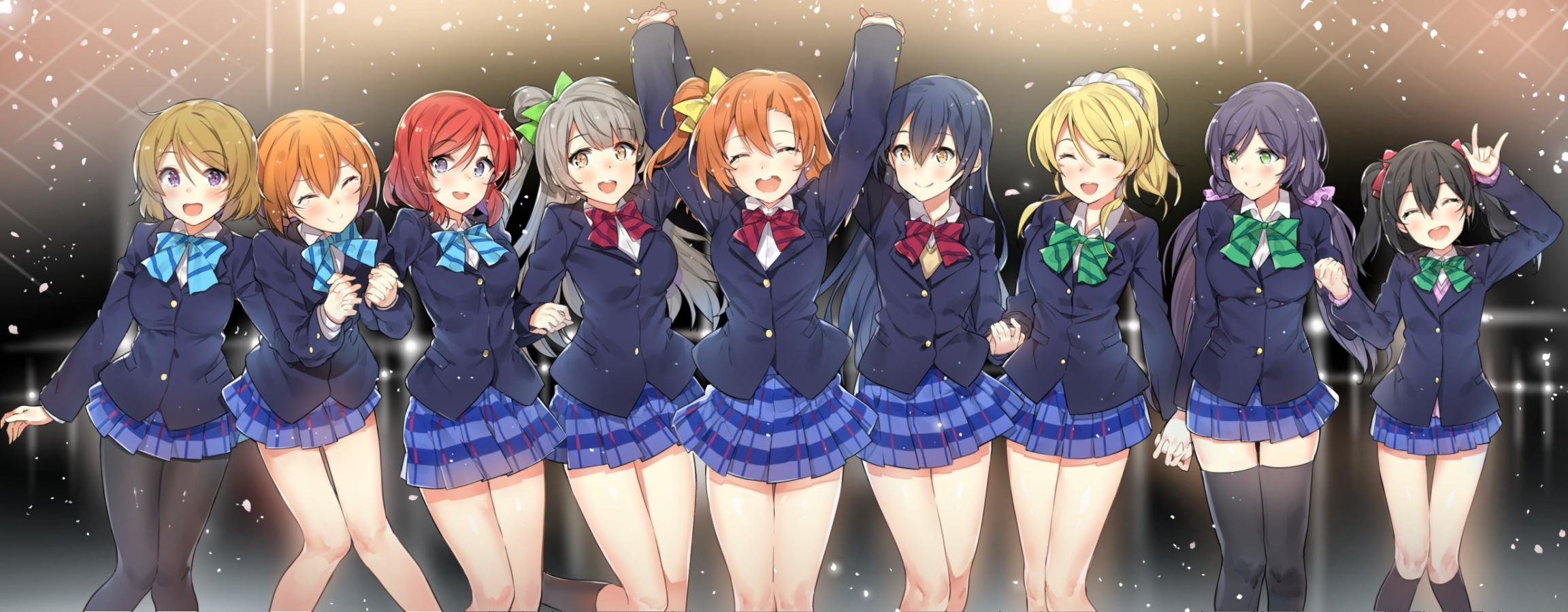 Best Love Live! background ID:152187 for High Resolution dual monitor 2304x900 computer