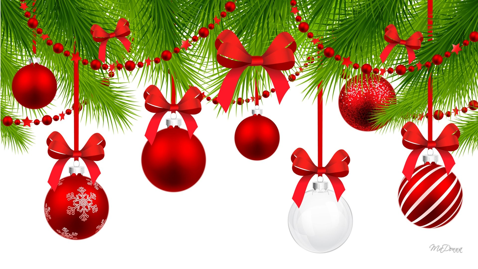 Awesome Christmas Ornaments Decorations Free Background Id 435113