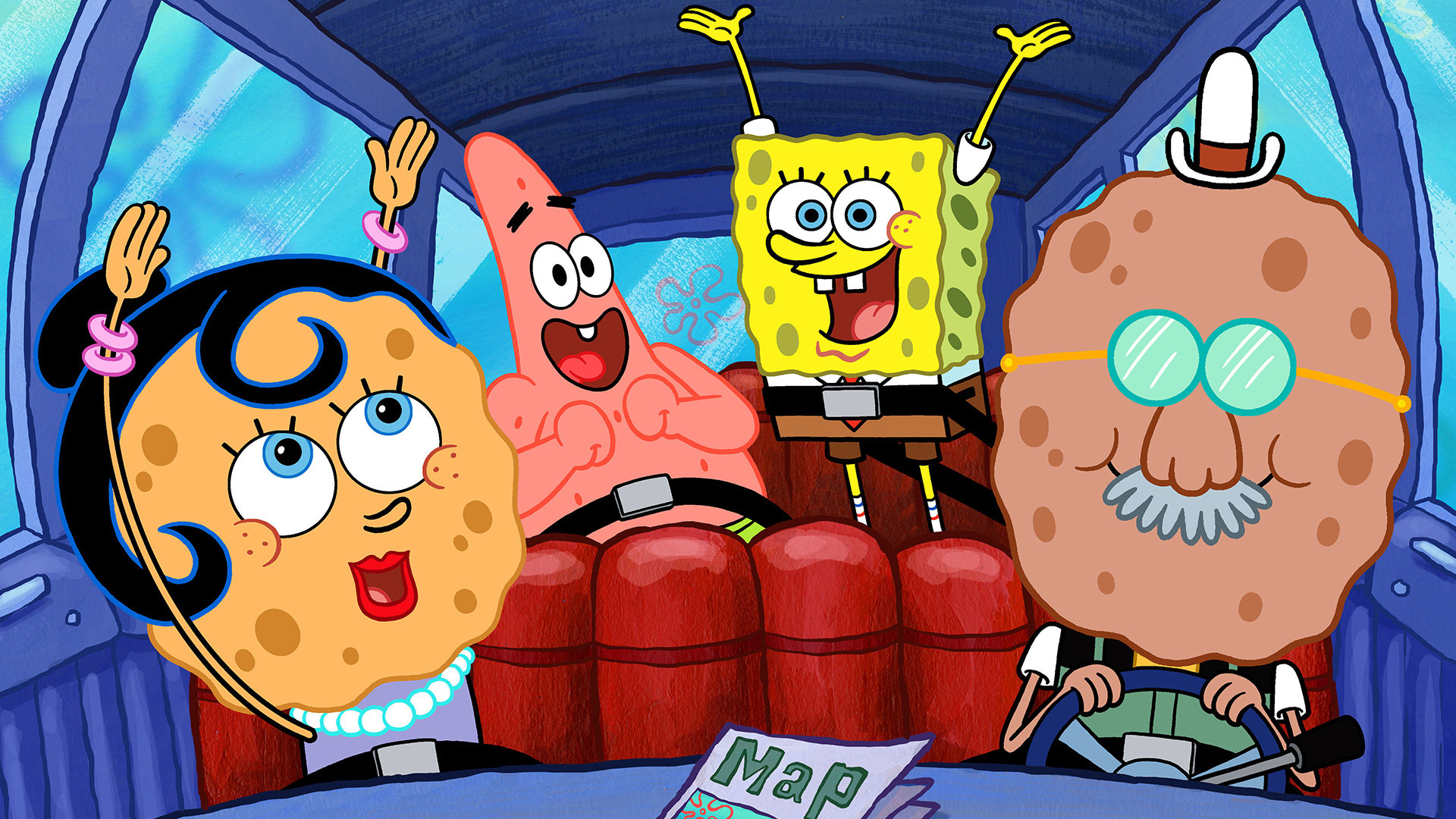High Resolution Spongebob Squarepants Full Hd 1920x1080 Wallpaper Id