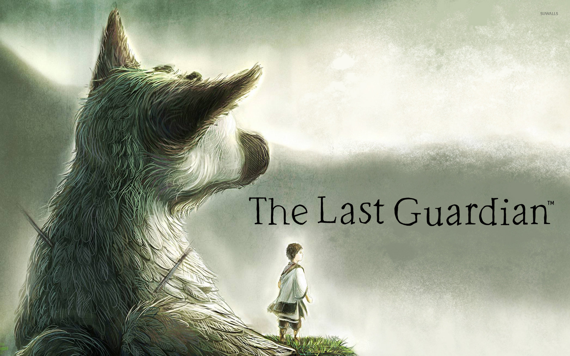 awesome the last guardian free wallpaper id:229636 for hd 1920x1200