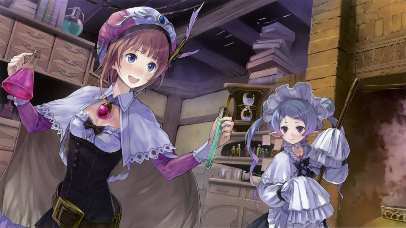 Download laptop Atelier Totori computer wallpaper ID:132404 for free
