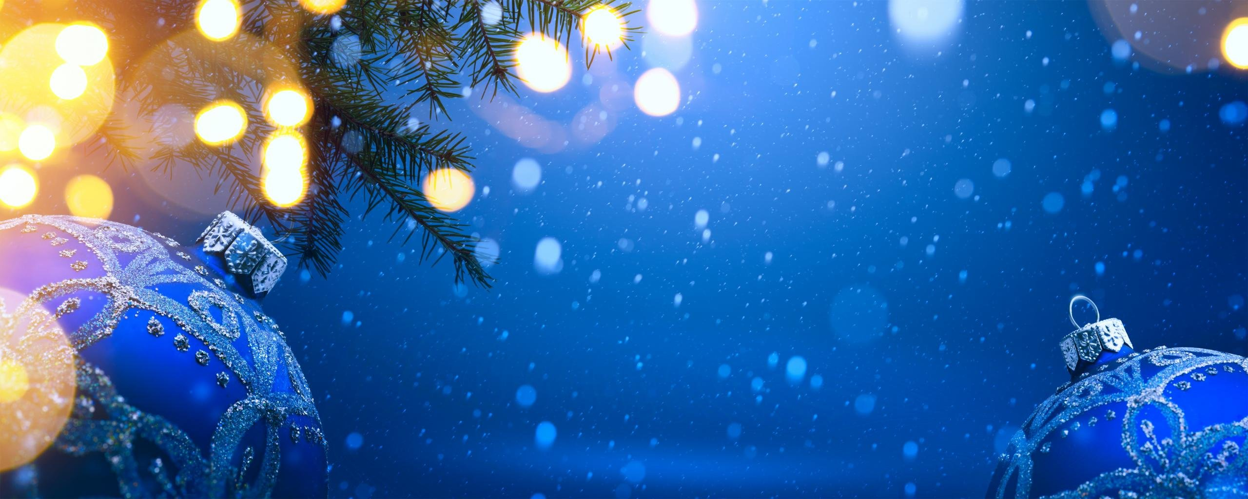 dual monitor christmas wallpapers, hd backgrounds