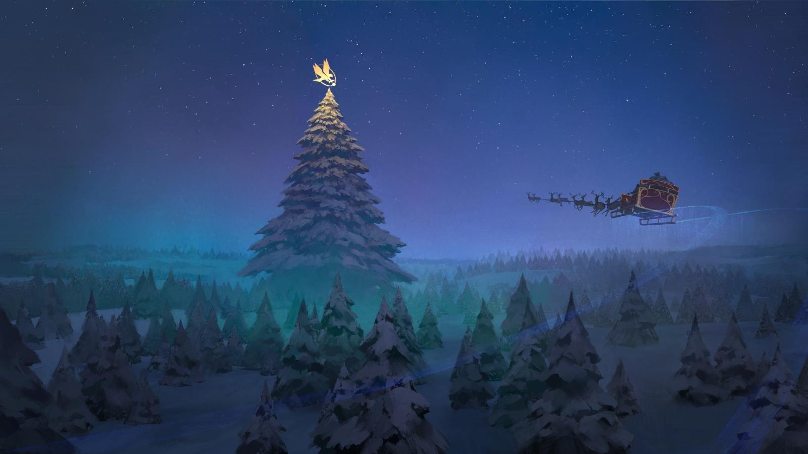 Christmas Desktop Pictures.Christmas Wallpapers 1600x900 Desktop Backgrounds