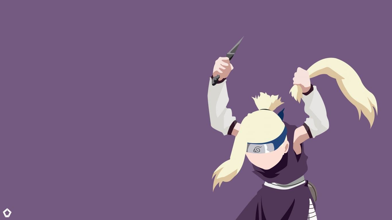 Awesome Ino Yamanaka free background ID:395229 for 1366x768 laptop PC
