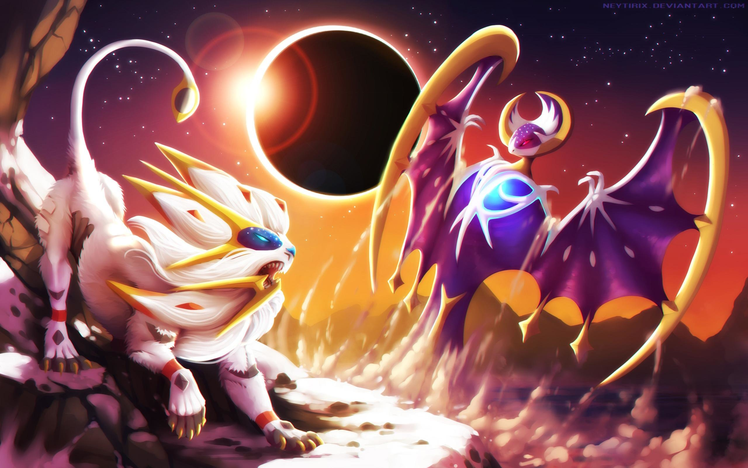 Download hd 2560x1600 Pokemon Sun And Moon computer wallpaper ID:123194 for free