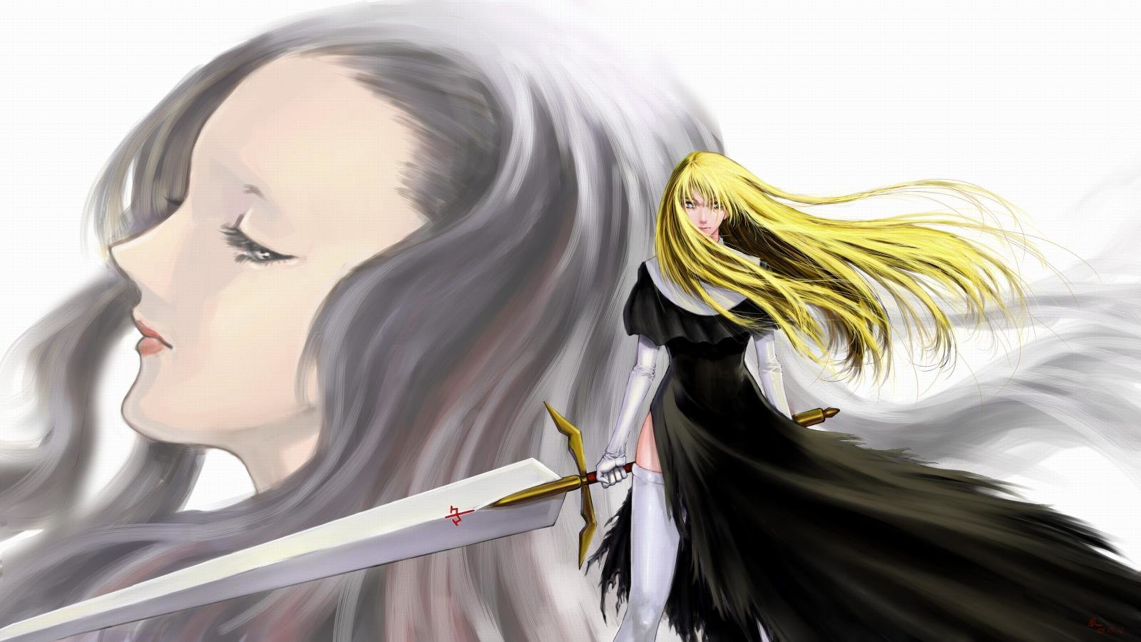 Awesome Claymore free background ID:351280 for hd 1600x900 PC