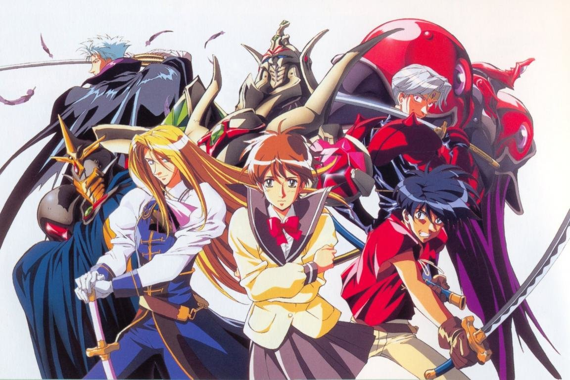 Free download The Vision Of Escaflowne background ID:307708 hd 1152x768 for PC