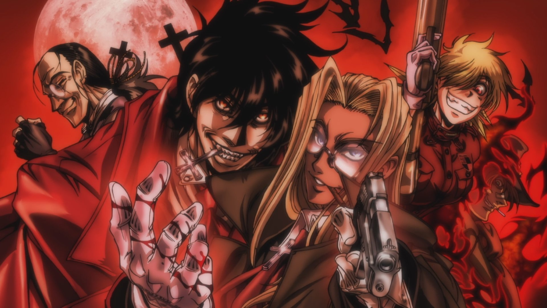 Free Alucard (Hellsing) high quality background ID:329646 for hd 1920x1080 PC